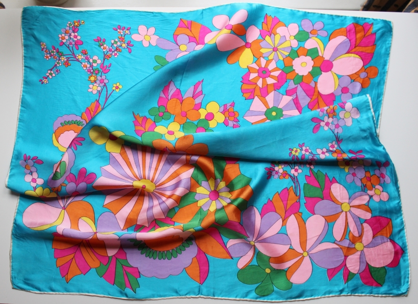 vintage scarf 1