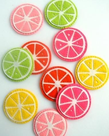 citrus coasters