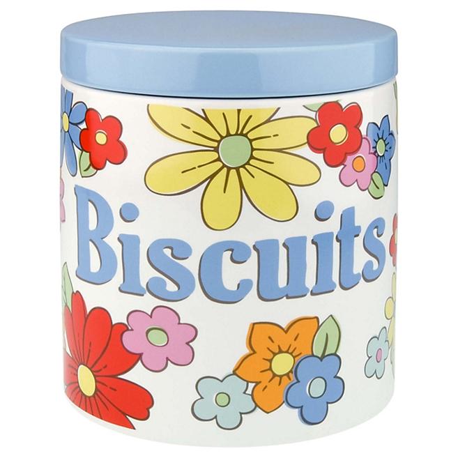 cath kidston petal biscuit jar