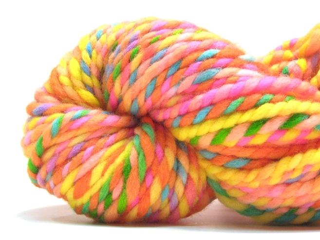 super bulky rainbow yarn