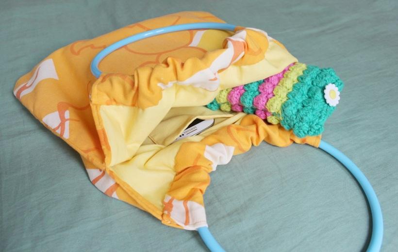 circular handle bag 2