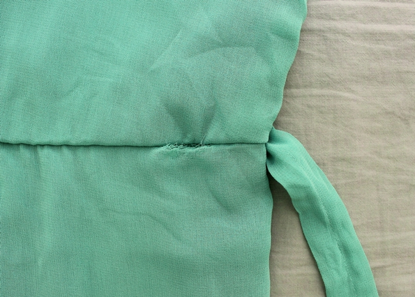 emerald peter pan collar dress 2