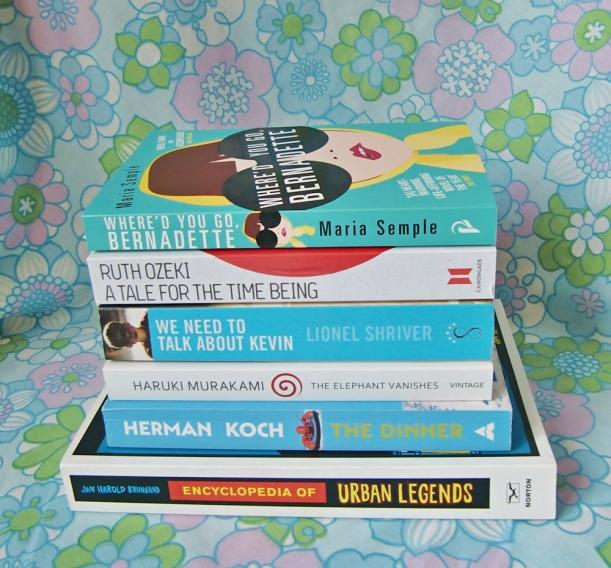 chiaki creates autumn reading list