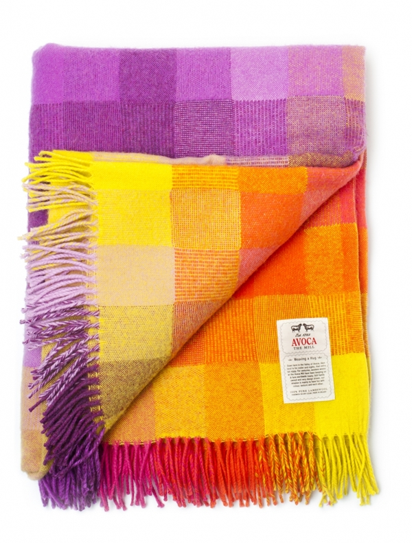 Avoca Spectrum Throw Jellybean
