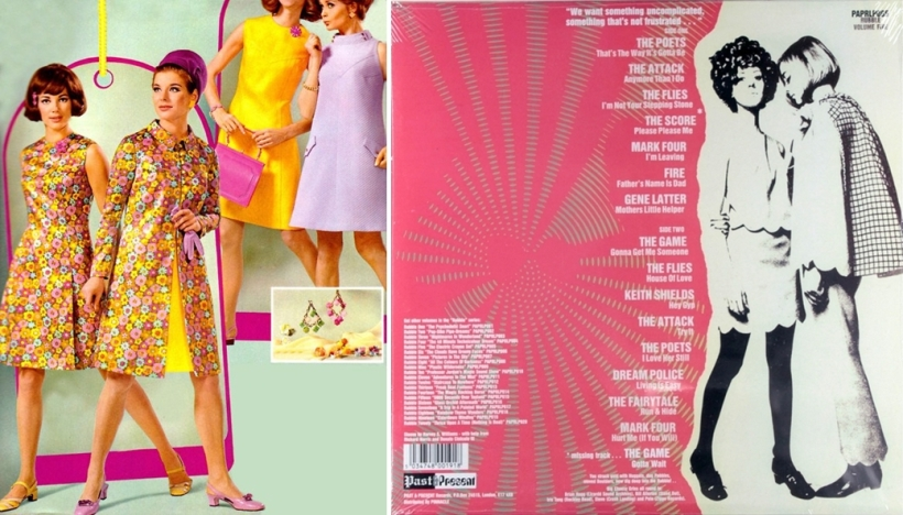 groovy 60s fashion and freakbeat record