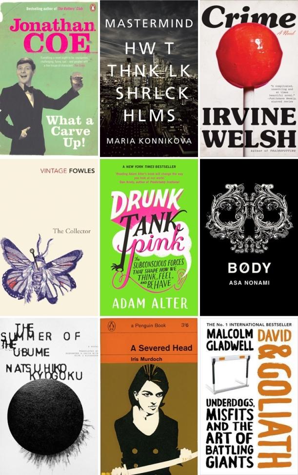Chiaki Creates - Winter Reading List