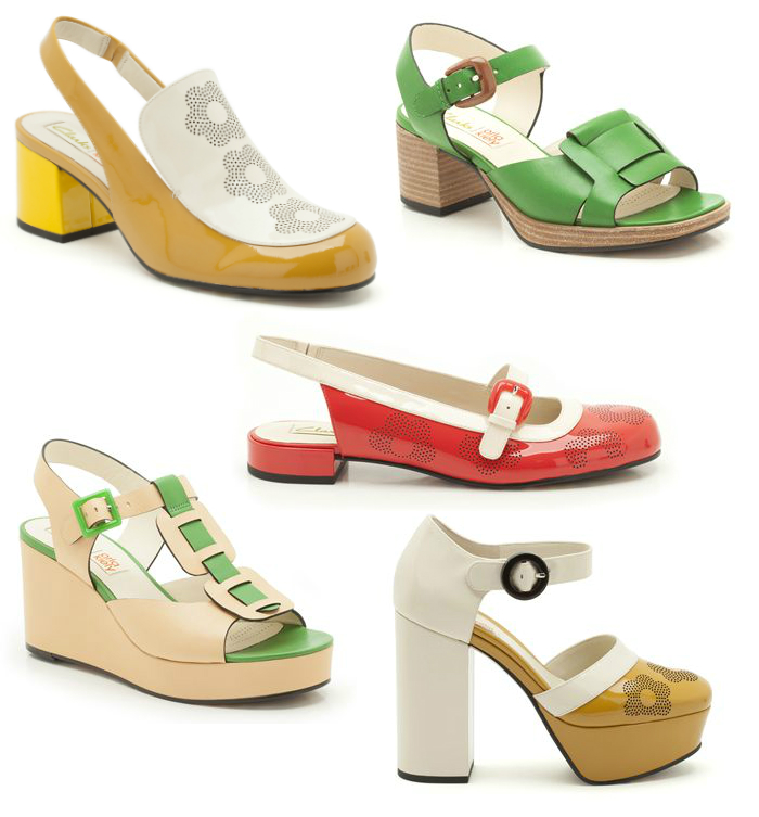 Chiaki Creates - Orla Kiely for Clarks