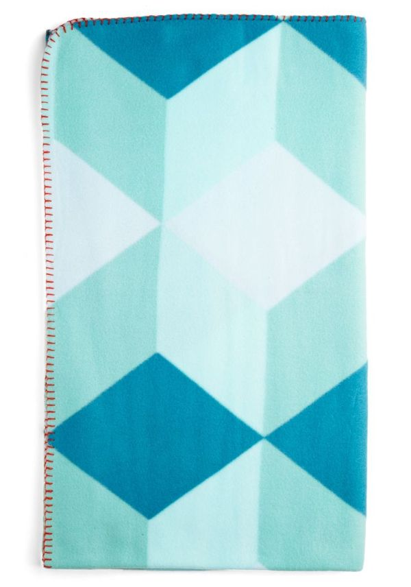 Modcloth Shape Up Your Space Throw Blanket