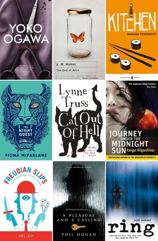 Chiaki Creates - Spring Reading List