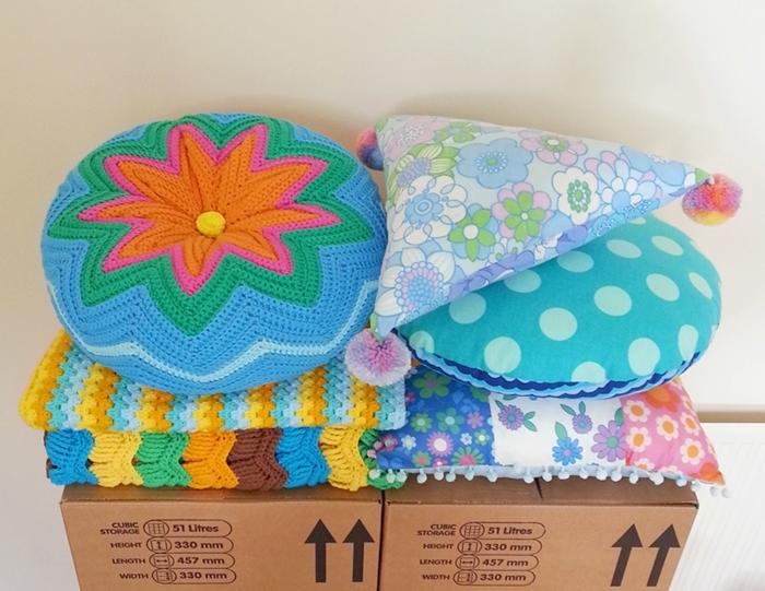 Cushions and Blankets Handmade by Chiaki - chiakicreates.com