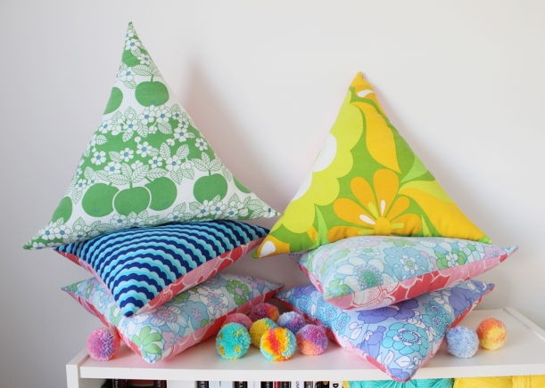 Chiaki Creates - Happy Cushions WIP chiakicreates.com
