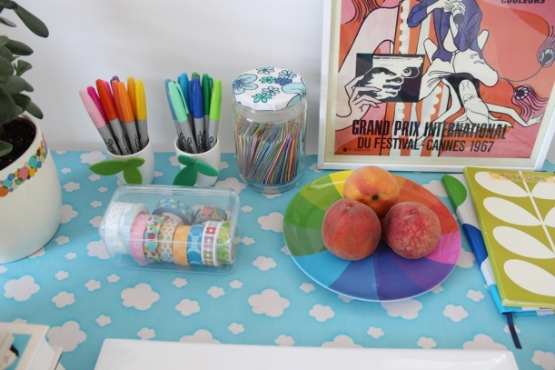 Chiaki Creates - What's On My Desk Close-Up