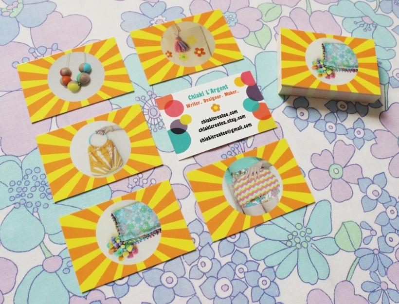Chiaki Creates - New Business Cards chiakicreates.com